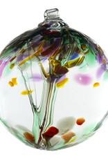 """Kitras Art Glass Boule Arbre  - du Souvenir 2"""""""