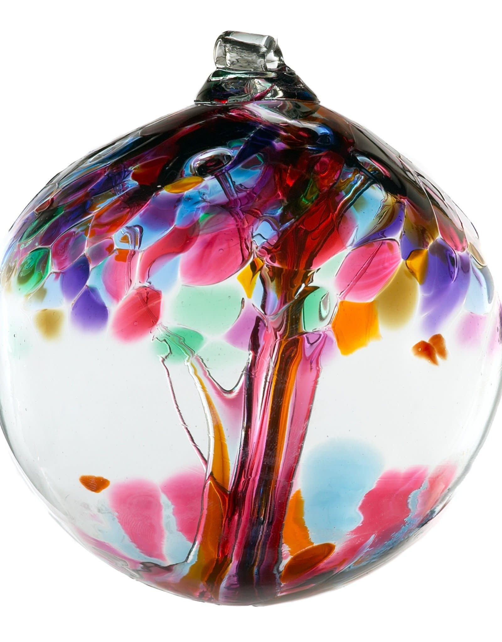 """Kitras Art Glass Boule Arbre  de l'Amitié 6"""""""