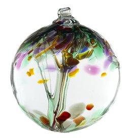 """Kitras Art Glass Boule Arbre - du Souvenir  6"""""""