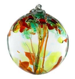 """Kitras Art Glass Boule Arbre des Soeurs  6"""""""