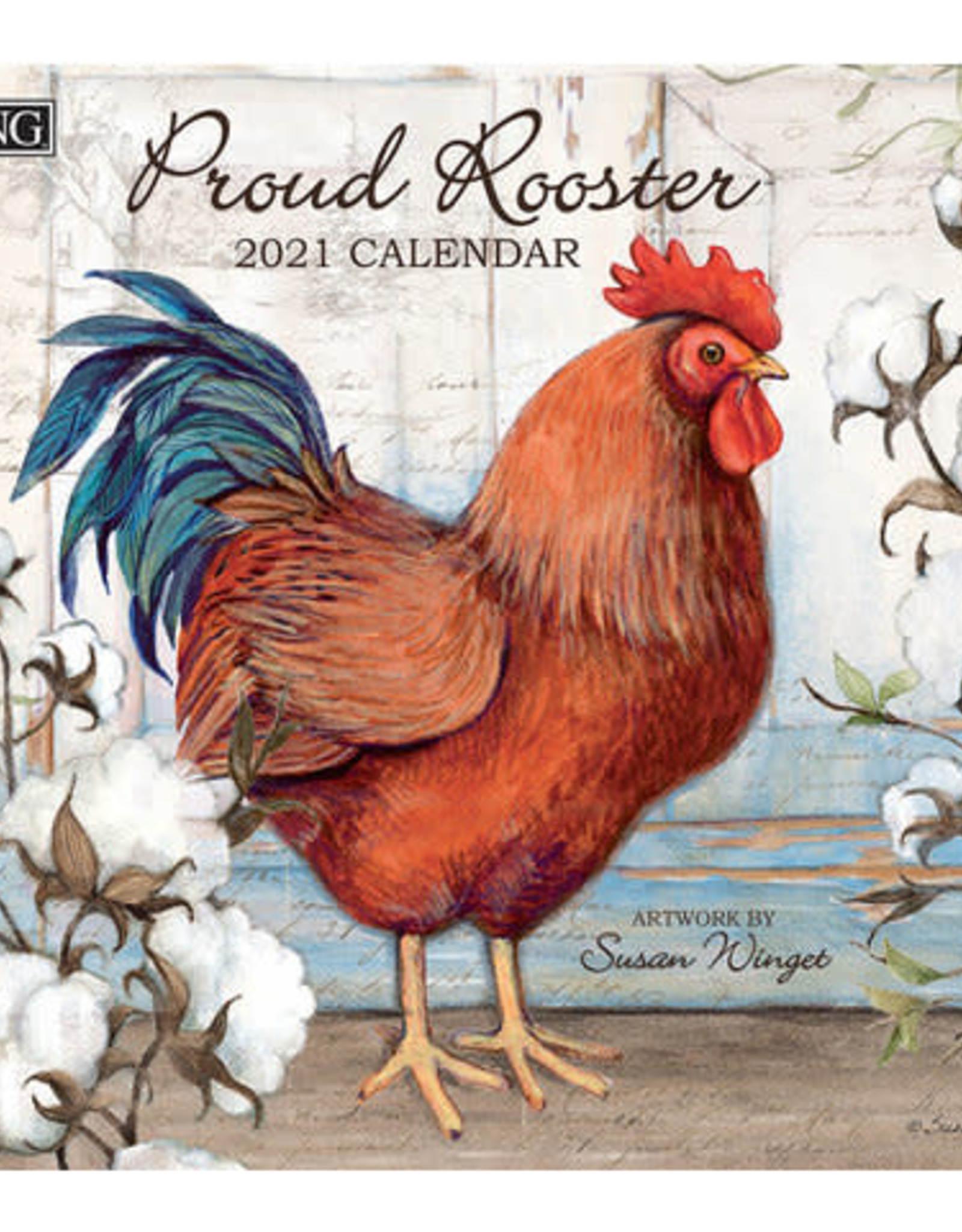 Calendrier 2021 Proud Rooster