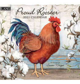 Lang Calendrier 2021 Proud Rooster