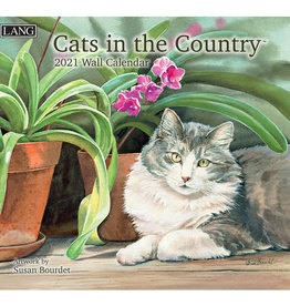 Lang Calendrier 2021 Cats in the country