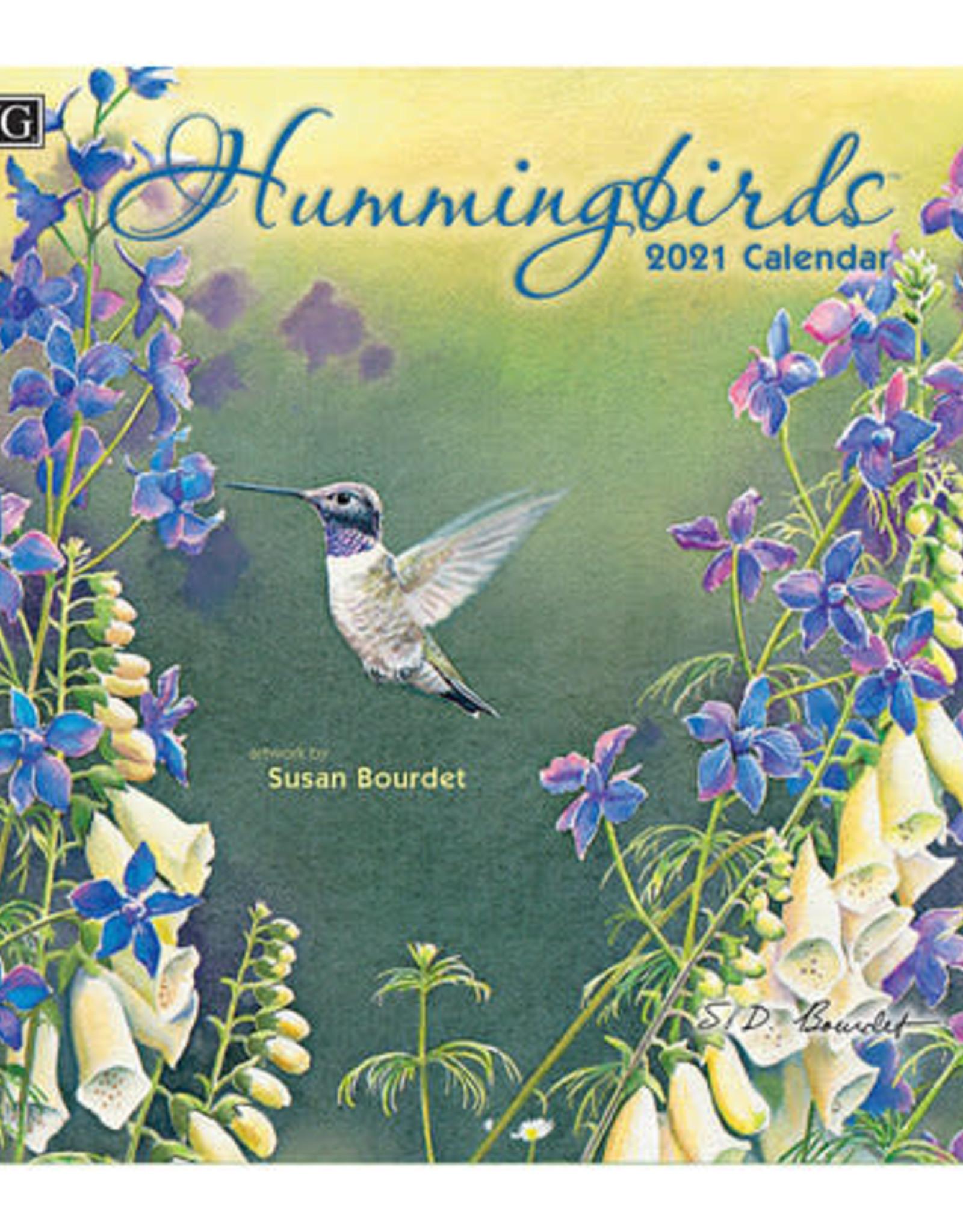 Calendrier 2021 Hummingbirds