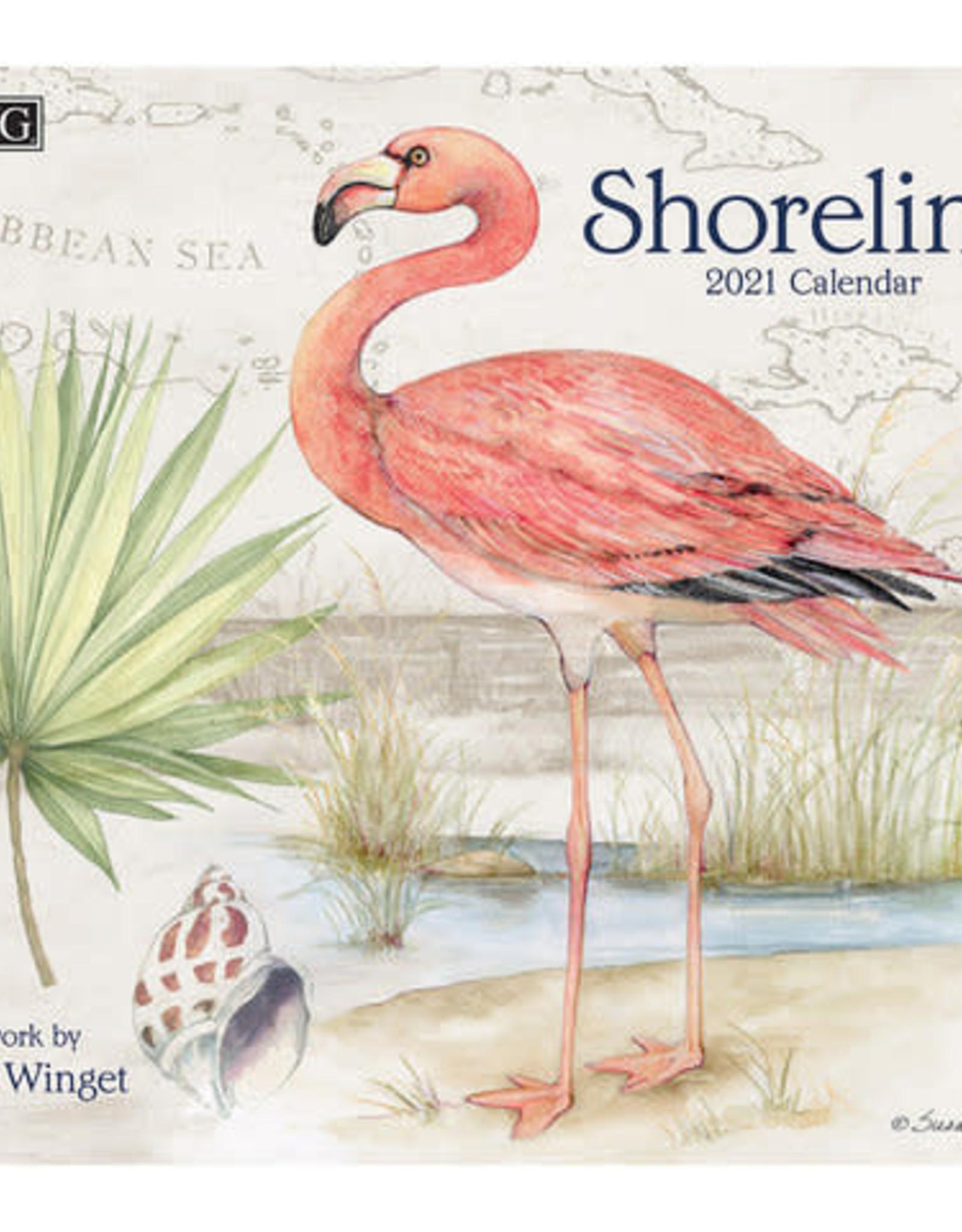 Calendrier Shoreline 2021