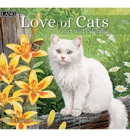 Calendrier Love of cats 2021