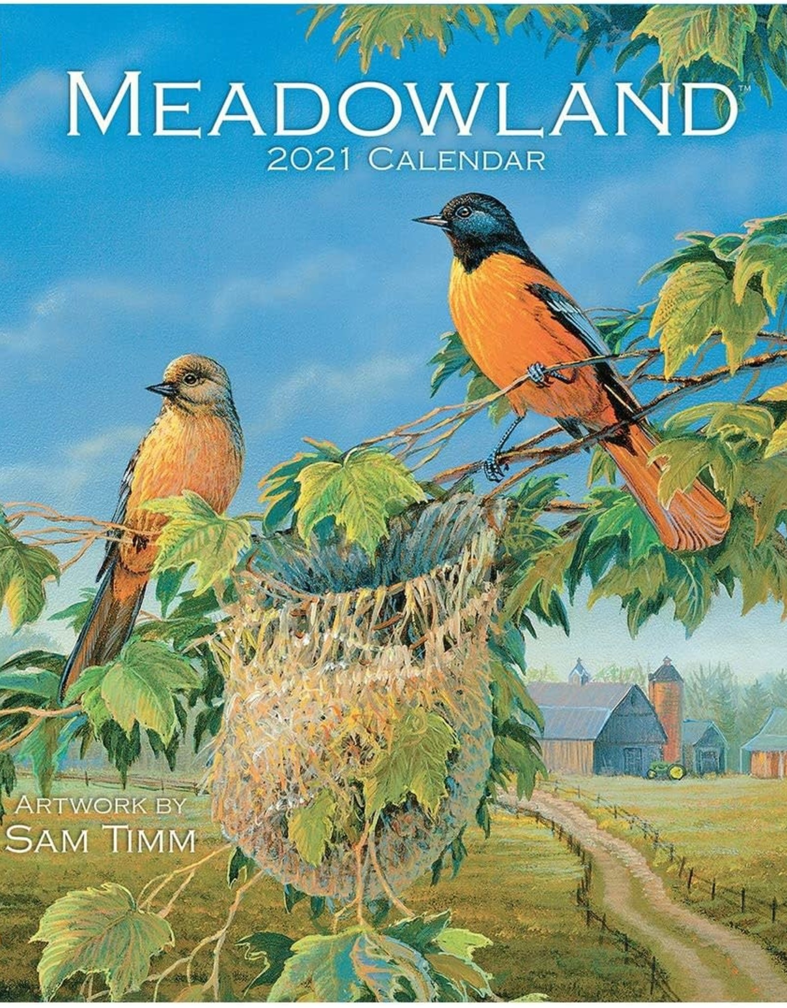 Calendrier Meadowland 2021