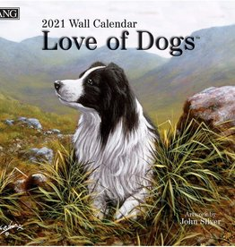 Lang Calendrier 2021 Love of dogs