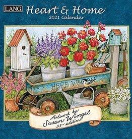 Lang Calendrier 2021 Heart &  home