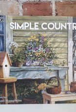 Calendrier 2021 Simple Country