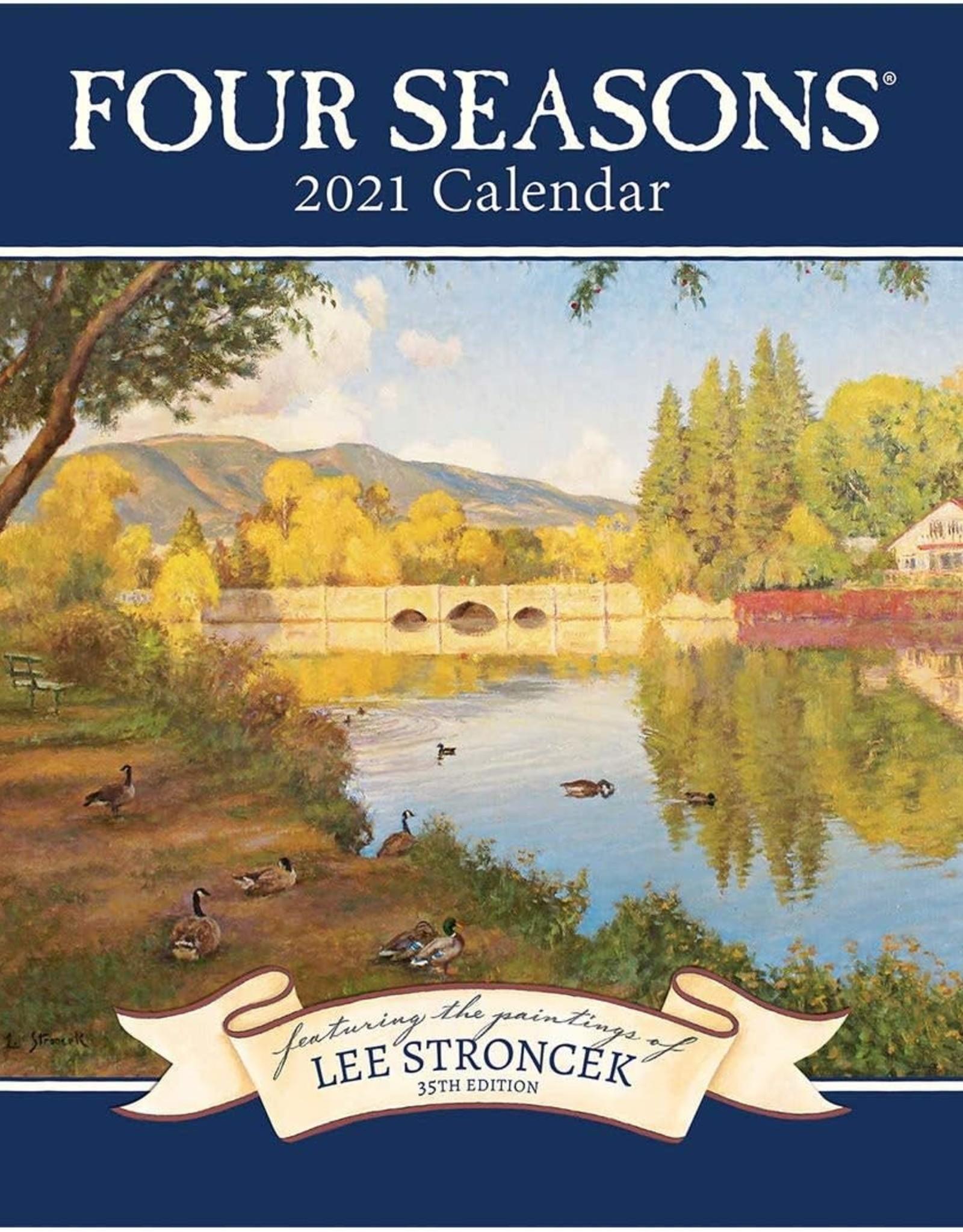 Calendrier 2021 Four seasons