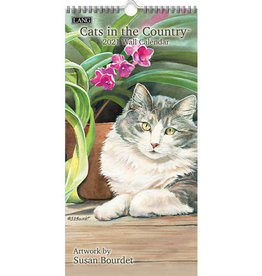 Petit calendrier 2021 Cats in the country