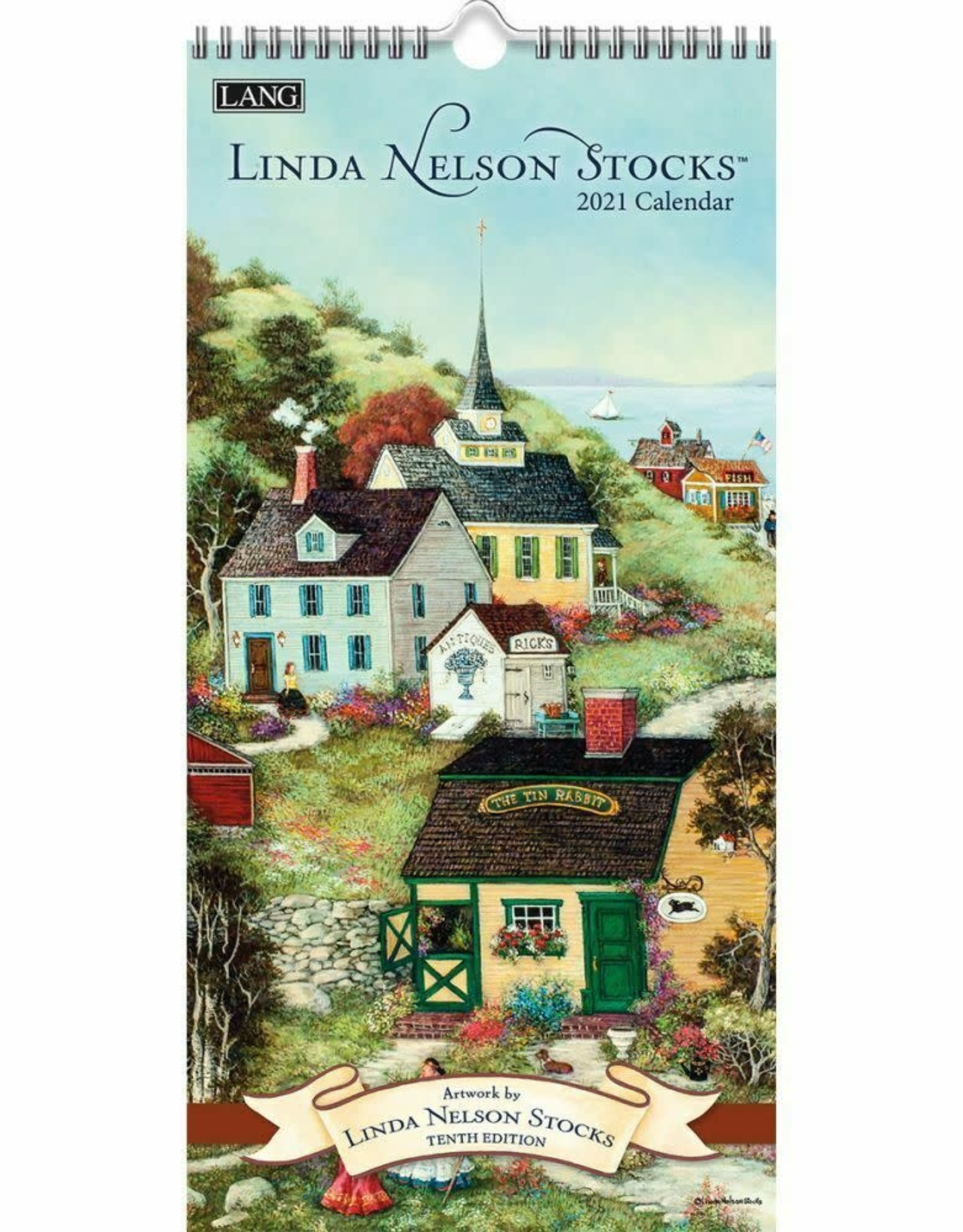 Petit Calendrier 2021 Petit calendrier 2021 Linda Nelson   Boutique Amandine Joliette