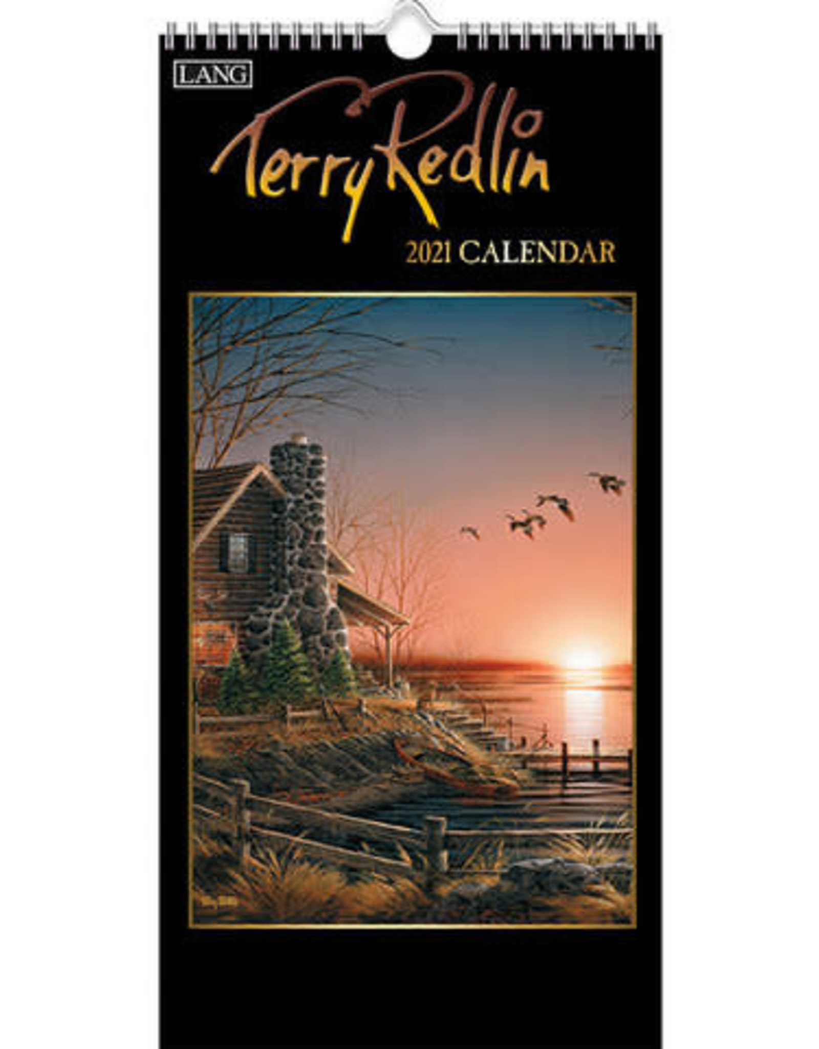 Lang Petit calendrier 2021 Terry Redlin