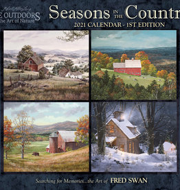 Calendrier Seasons in the country  2021