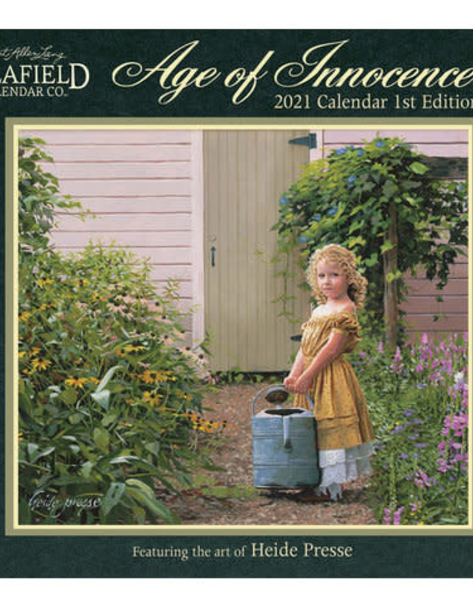 Calendrier Age of Innocence 2021