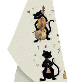 Bug Art Linge à vaisselle chat Musicien