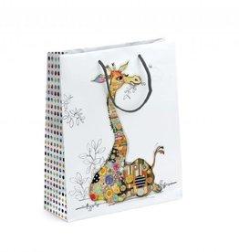Sac cadeau girafe