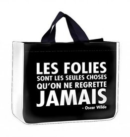 Sac magasinage Les folies ...