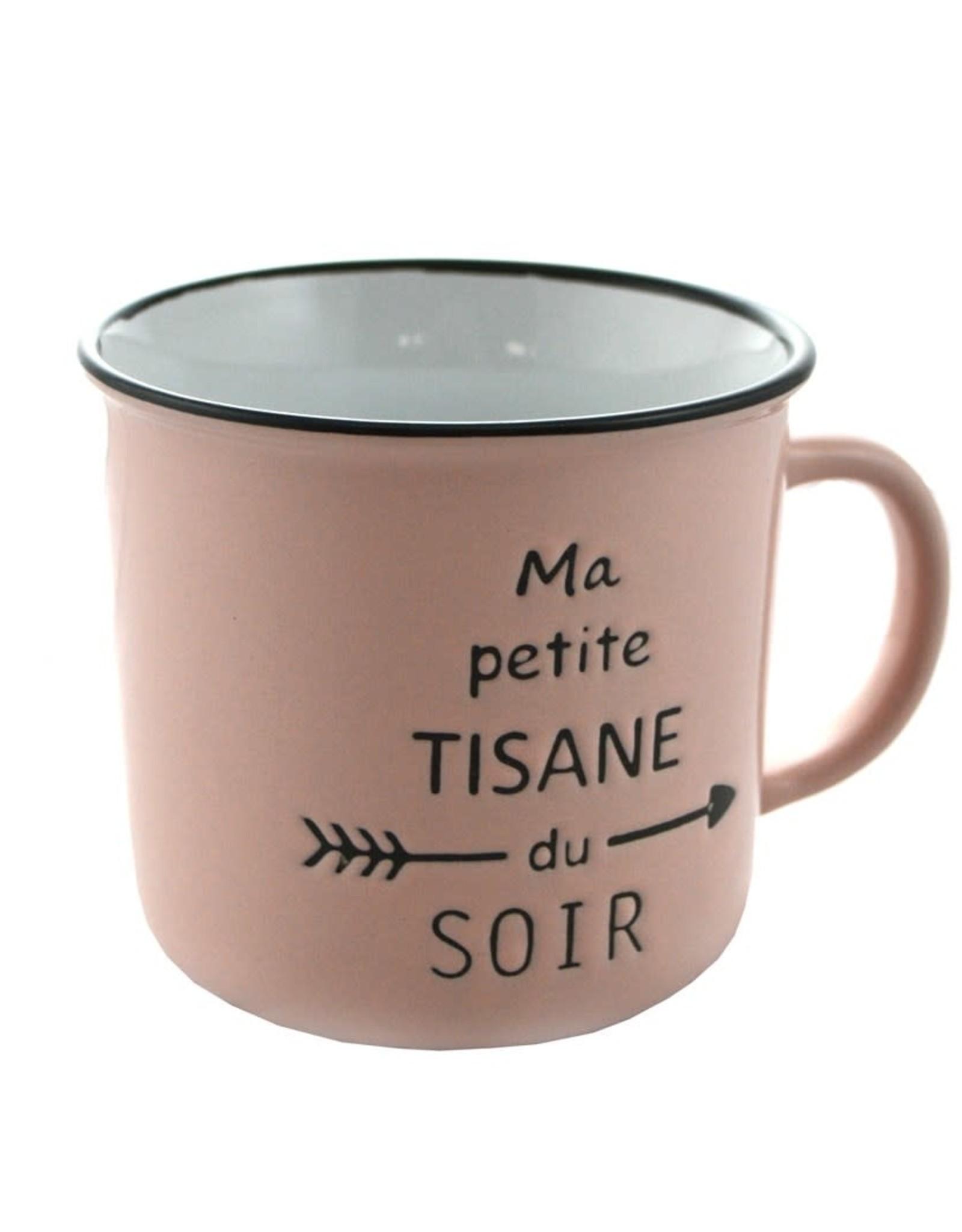 Tasse Rose Tisane du Soir
