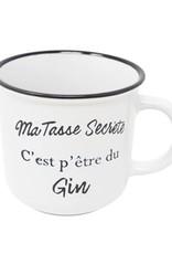 Tasse secrète - gin