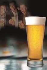 Ens 4 verres à bière Fizz up