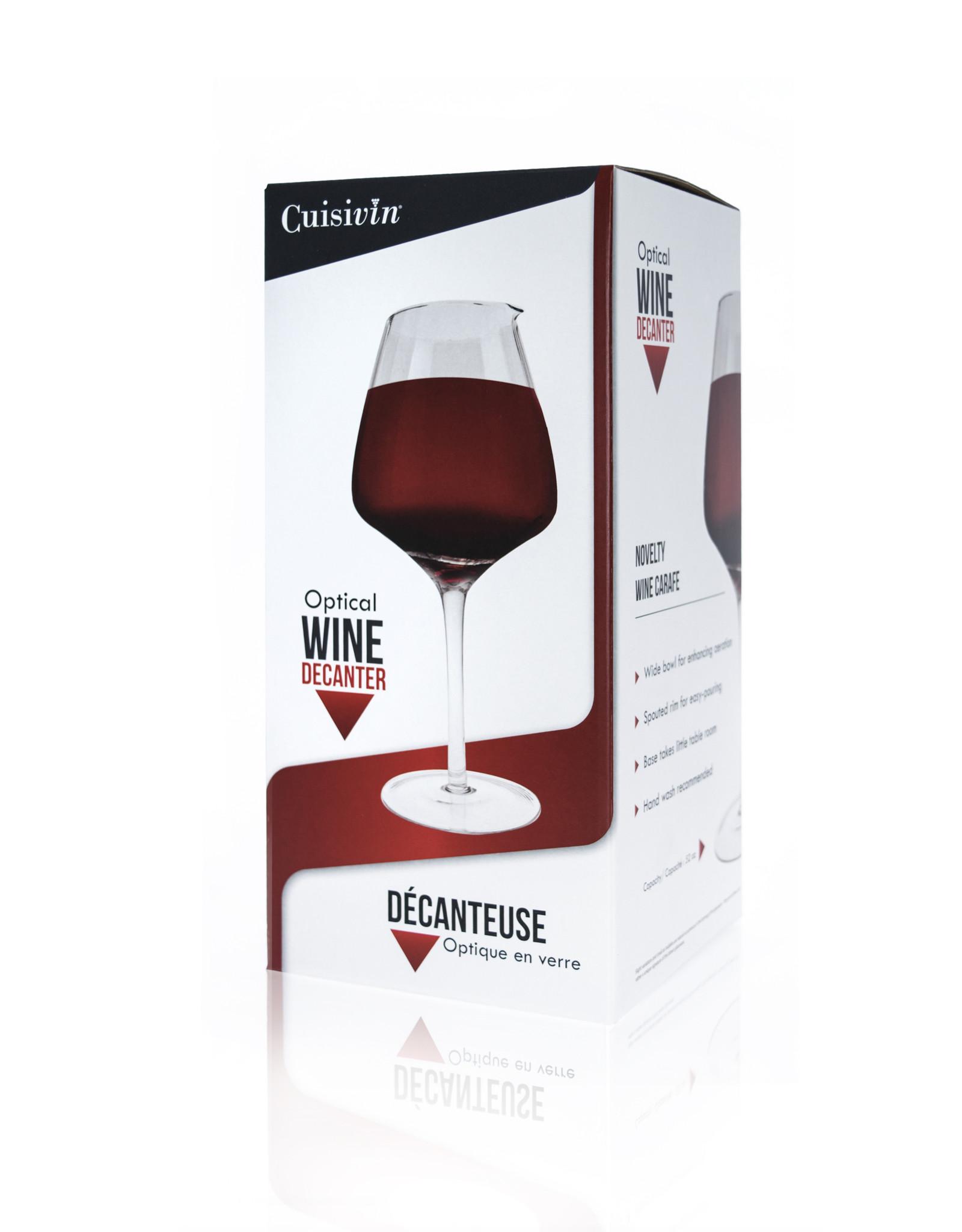 Décanteur en forme de verre à vin
