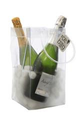 Ice Bag- seau à  vin  clair  Grand format
