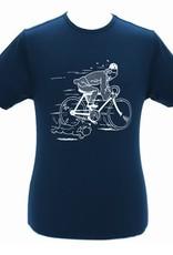Tintin Chandail Tintin Marine Bicyclette