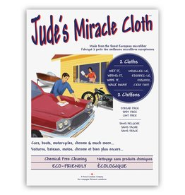 Jude Ens 2 chiffons gris auto - Jude's Miracle cloth