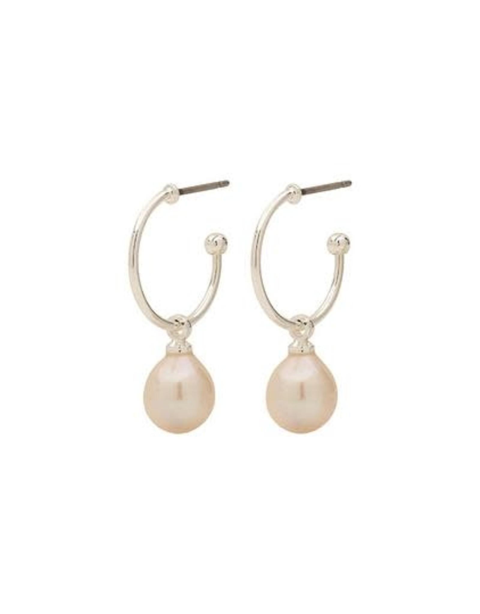 Pilgrim BO anneau  perle - Argent