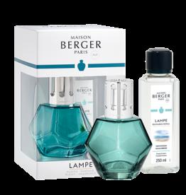 Maison Berger Coffret lampe Géometrie - Bleu