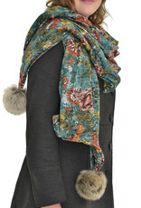 Baluchon Grand foulard pompom # 1610-1164
