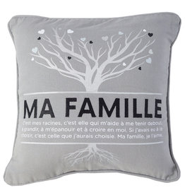 Chantal Lacroix Coussin La famille