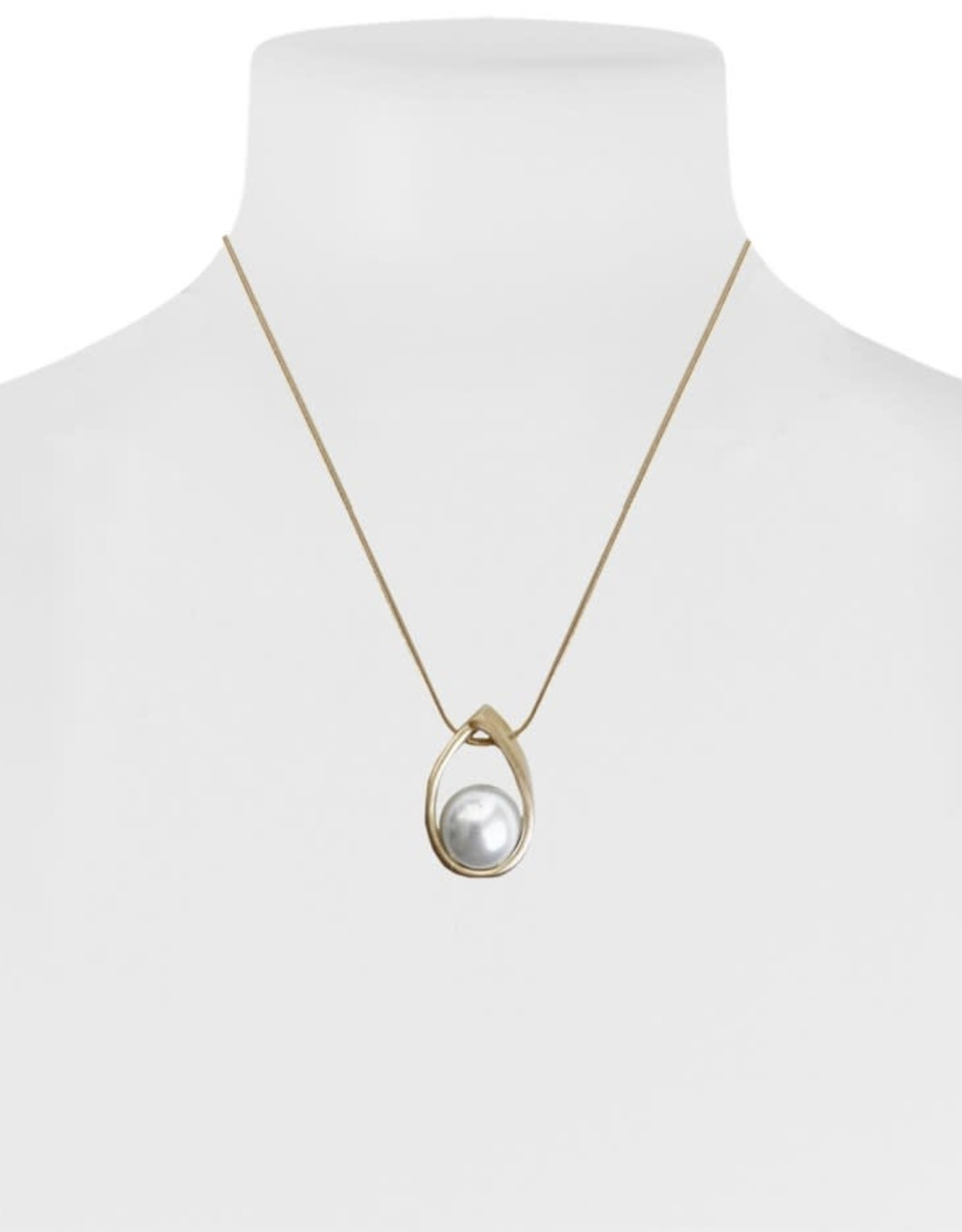 Caracol Collier or - perle