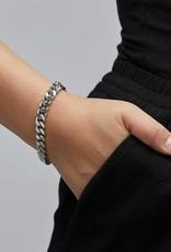 Pilgrim Bracelet maille large - Argent