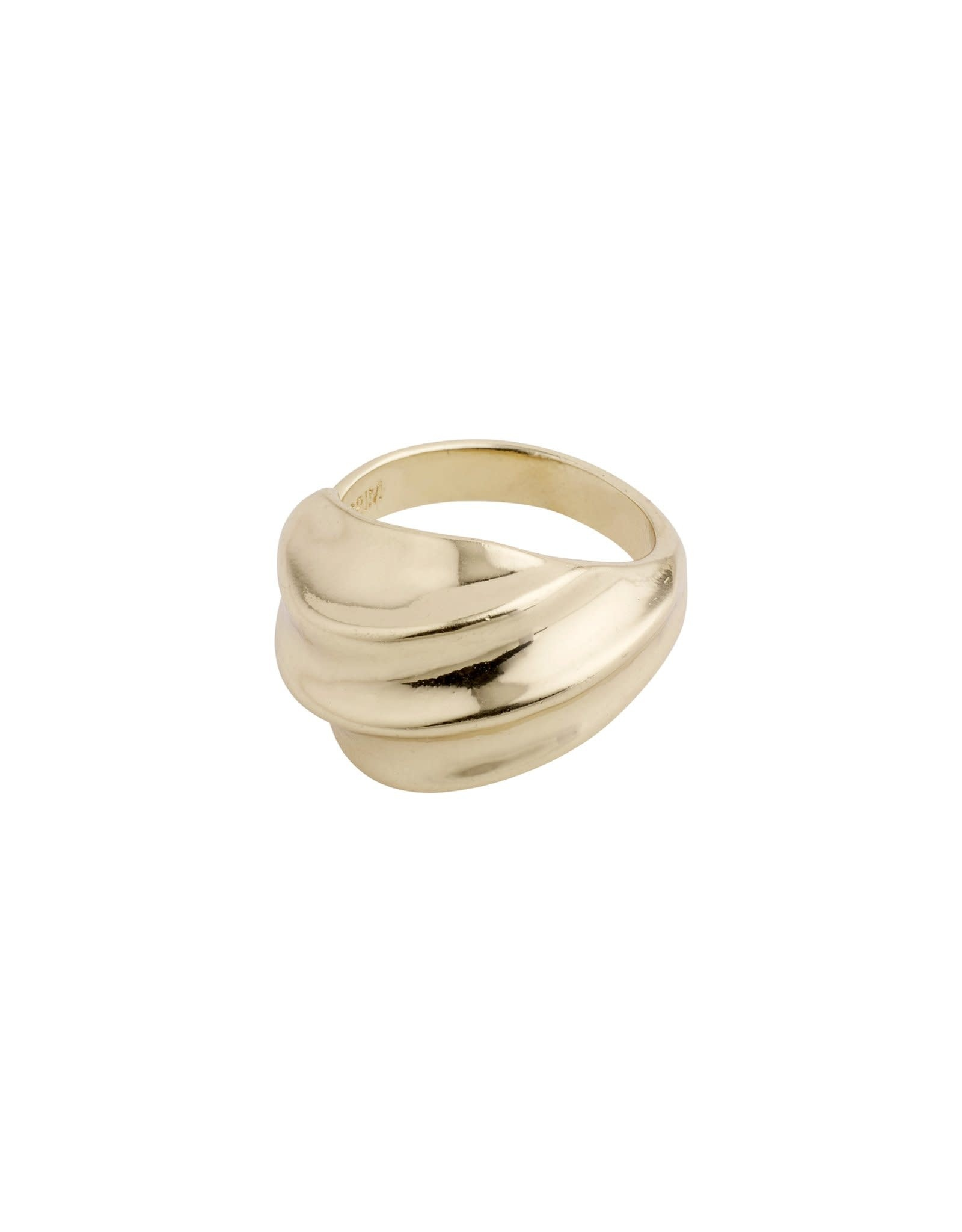 Pilgrim Bague ajustable Sagi - Or
