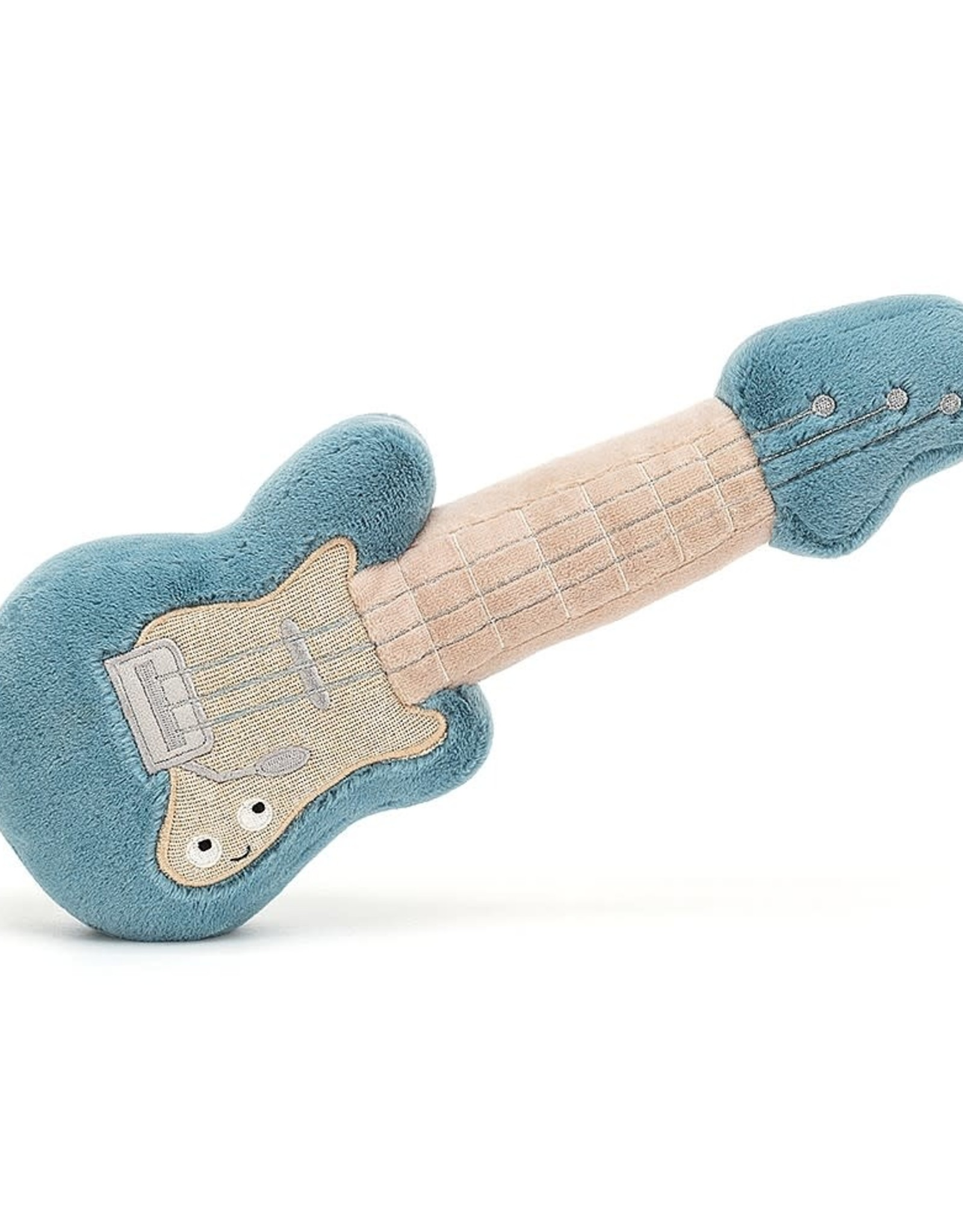 Jelly cat Guitare bleu