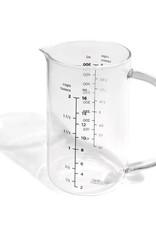 Ricardo Tasse à mesurer en verre 2 Tasses
