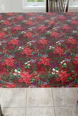 Nappe Poinsettia Rouge