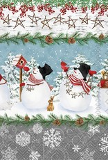 Serv. Table bonhomme de neige