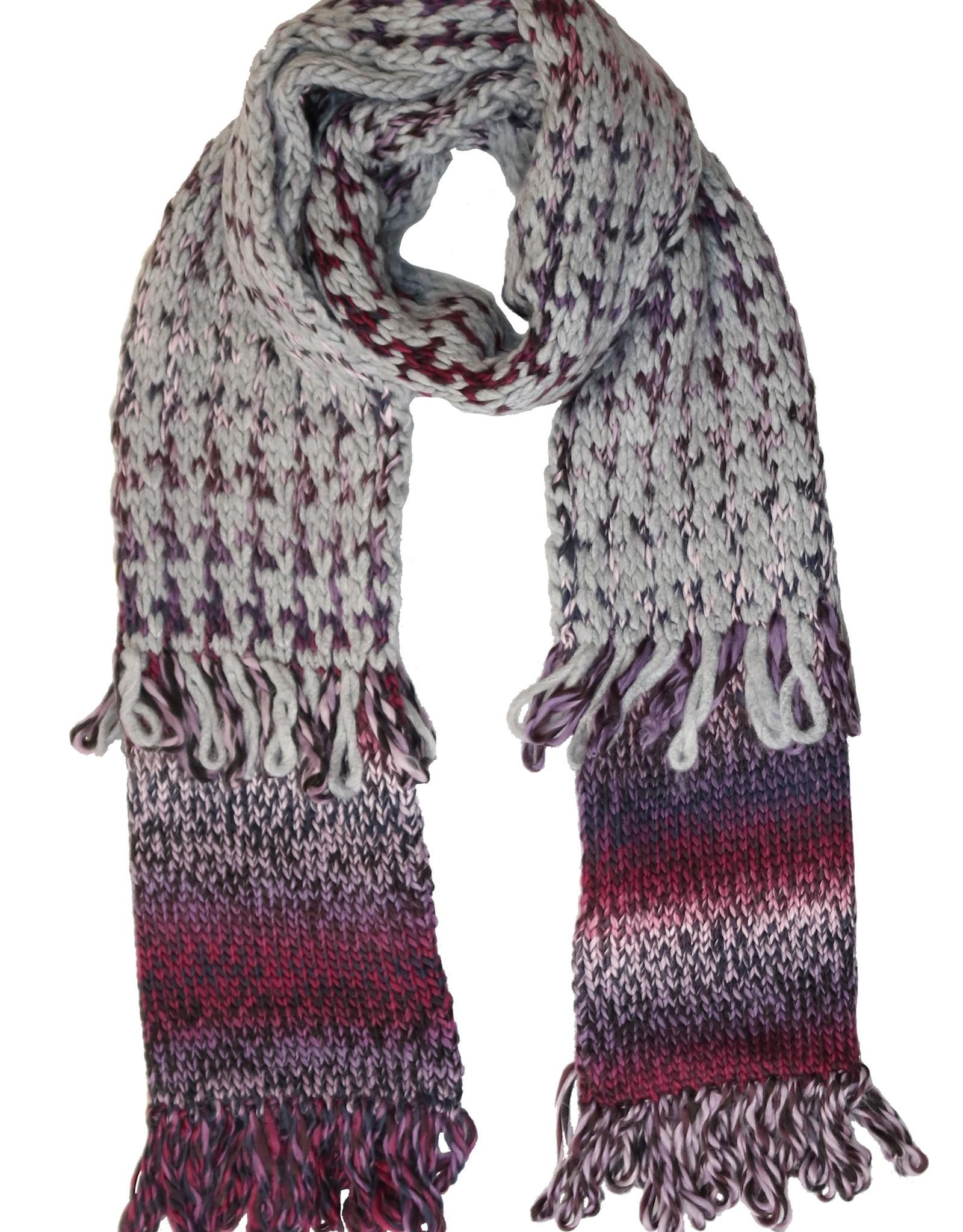 Fraas Foulard tricot - multi  #818-400