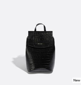 Pixie Mood Petit sac à dos Kim  - Noir croco