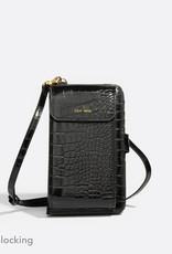 Pixie Mood Mini sac - Rae noir croco