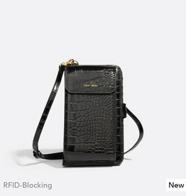 Pixie Mood Mini sac - Rae noir croco