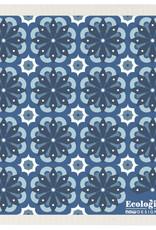 Lingette motifs bleu - Toulouse