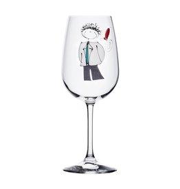 Verre à vin Garçon - Amis