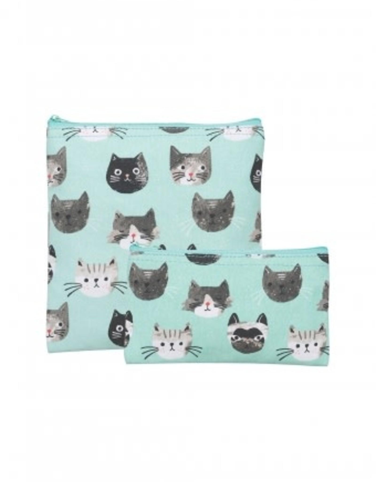 ens 2 sacs à collation chats