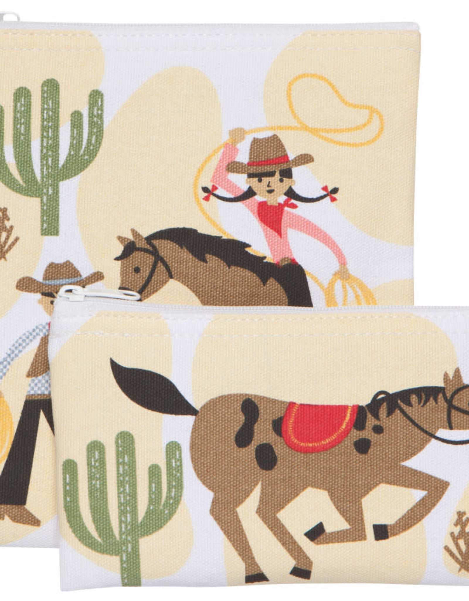 Ens 2 sacs à collation - Cowboys