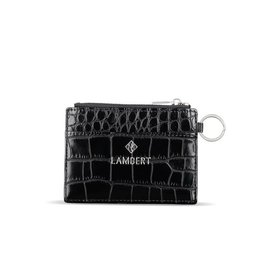 Lambert Porte-carte Laura Noir croco
